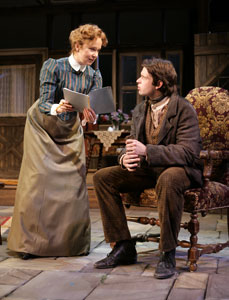 Kate Burton and Morgan Ritchie