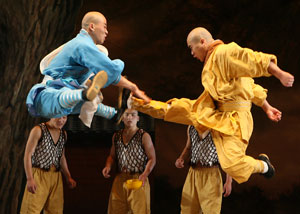 A scene from Soul of Shaolin