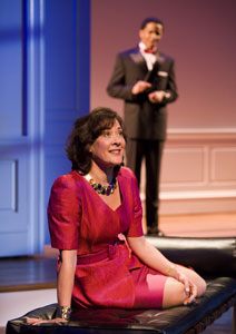 Karen Ziemba and Samuel Stricklen