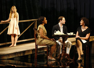 Lily Rabe, Brenda Pressley, Kieran Campion,