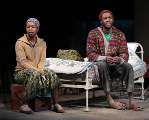 Roslyn Ruff and Colman Domingo in Coming Home (© T. Charles Erickson)