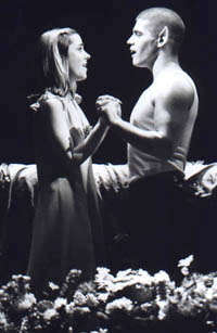 Kerry Butler and Deven May in Bat Boy(Photo: Joan Marcus)