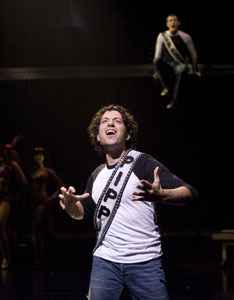 Tyrone Giordano and Michael Arden in Pippin