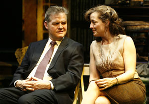 Ciaran O'Reilly and Orlagh Cassidy in Aristocrats