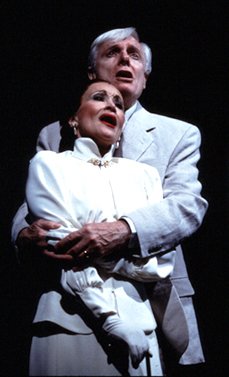 Chita Rivera and John McMartin in The Visit(Photo: Eric Y. Exit)