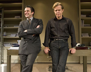 Raul Esparza and William H. Macy in Speed-the-Plow
