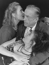 Carol Schultz, Robert Hock,and Celeste Ciulla in Exit the King