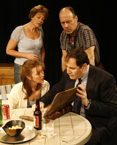 Michele Pawk, Kevin Geer, Donna Bullock,