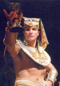 Brian Lane Green in the national tour ofJoseph and the AmazingTechnicolor Dreamcoat