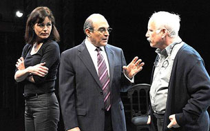 Elizabeth McGovern, David Suchet,and Richard Dreyfuss in Complicit