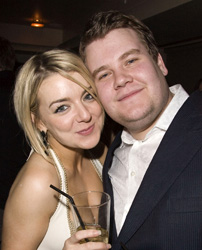 Sheridan Smith and James Corden