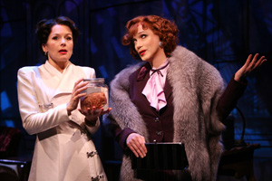 Jennifer Van Dyck and Charles Busch