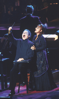 George Hearn and Patti LuPone in theSan Francisco Symphony?s Sweeney Todd(Photo: Terrence McCarthy)