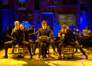 Jamie Blackley, Aneurin Barnard, and Iwan Rheon