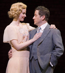 Katharine Leonard and Christopher Fitzgerald