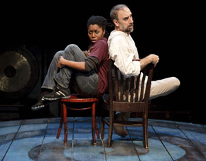 Donnetta Lavinia Grays and Michael Countryman