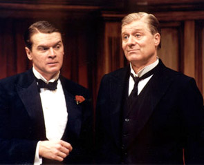 John Scherer and Martin Jarvis in By Jeeves(Photo: Suellen Fitzsimmons)