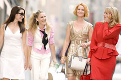 Kristin Davis, Sarah Jessica Parker, Cynthia Nixon,