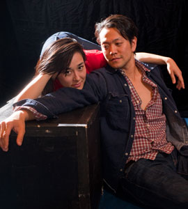 Jennifer Ikeda and Louis Ozawa Changchien