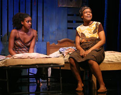 Condola Rashad and Quincy Tyler Bernstein