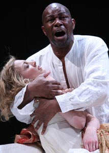 Juliet Rylance and John Douglas Thompson