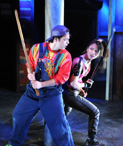 Paco Tolson and Maureen Sebastian