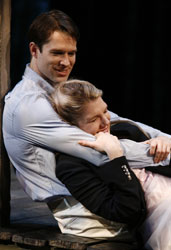 Kieran Campion and Lily Rabe