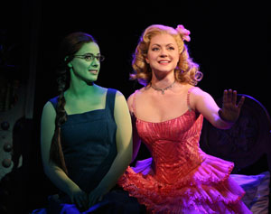 Teal Wicks and Kendra Kassebaum in Wicked
