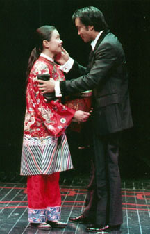 Lea Salonga and Jose Llanain Flower Drum Song(Photo: Craig Schwartz)