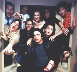 Peter Gallagher (center) and the cast of Noises Off(Photo: Joan Marcus)