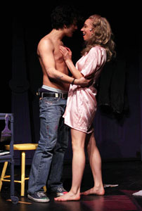 Greg Hentis and Liz Kimball
