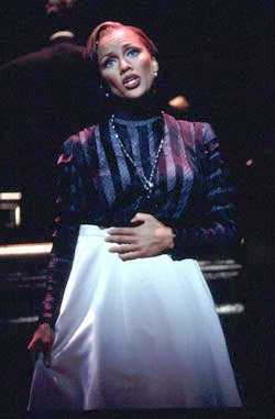 Vanessa L. Williams in the Encores!production of St. Louis Woman(Photo: Gerry Goodstein)