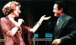 Marian Seldes and Lewis J. Stadlenin 45 Seconds From Broadway(Photo: Carol Rosegg)