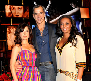 Kelly Monaco, Jerry Mitchell, and Mel B