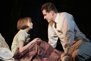 Olivia Scott and Matthew Modine in To Kill a Mockingbird