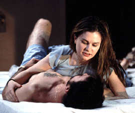 Anna Paquin and Jeffrey Donovan in The Glory of Living(Photo: Joan Marcus)