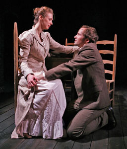 Julia Coffey and Nick Cordileone in