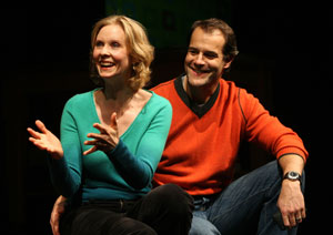 Cynthia Nixon and Josh Stamberg in Distracted
