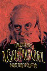 Poster art for the Alley Theatreproduction of A Christmas Carol