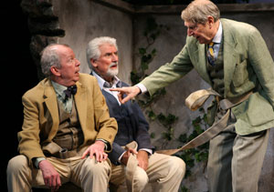 Jonathan Hogan, Ron Holgate, and John Cullum in Heroes