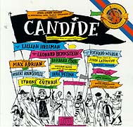 The 1956 original Broadway castrecording of Candide