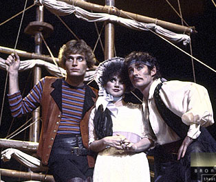 Rex Smith, Linda Ronstadt, and Kevin Klinein The Pirates of Penzance