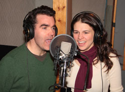 Brian d'Arcy James and Sutton Foster