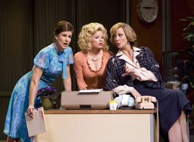 Stephanie J. Block, Megan Hilty, and Allison Janney