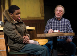 Jon Michael Hill and Michael McKean in