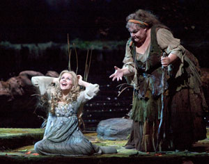 Renée Fleming and Stephanie Blythe in Rusalka