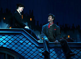 Ashley Brown and Gavin Lee