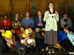 A scene from Hoi Polloi's The Less We Talk