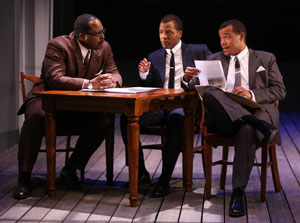 J. Bernard Calloway, Curtis McClarin, and LeRoy McClain