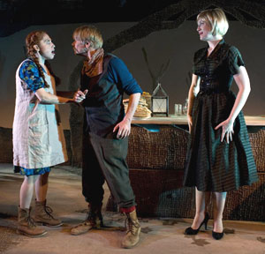 Elizabeth Gross, Matthew Cowles, and Lori Funk